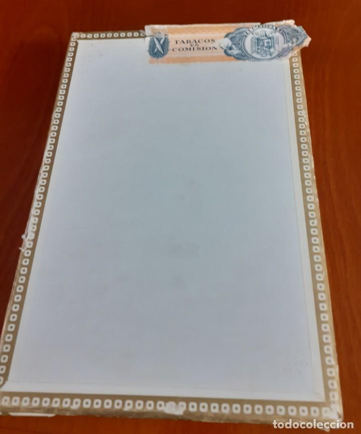 Cajas de Puros: Antigua caja de puros de la Exquisita vacia - Foto 3 - 211579669