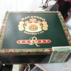 Cajas de Puros: CAJA MACANUDO VACIA. Lote 213535238