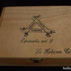 Cajas de Puros: CAJA MONTECRISTO ESPECIALES Nº 2 LA HABANA CUBA. Lote 213933265