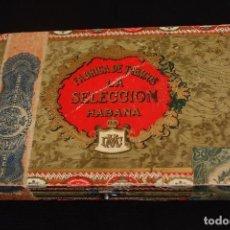 Cajas de Puros: CAJA PUROS LA SELECCION 25 MINERVAS HABANA CUBA. Lote 213934715