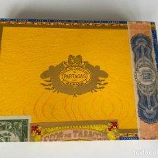 Cajas de Puros: FLOR DE TABACOS PARTAGAS , 25 PRESIDENTES , HABANA , CUBA , CAJA PRECINTADA DE PUROS ,. Lote 214272278