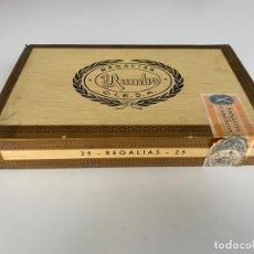 Cajas de Puros: REGALIAS , RUMBO , C.I.E.S.A. 25 PUROS , CAJA PRECINTADA DE PUROS ,. Lote 214273861