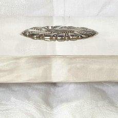 Cajas de Puros: ANTIGUA RARA CIGARRERA 848 FASHIONED BY RONSON USA MIDE 18 CM X 10 CM X 3,3 CM. Lote 215649291