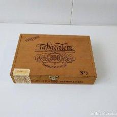 Cajas de Puros: BONITA CAJA DE PUROS TABACALERA FLOR 350 FINA, VACIA. Lote 217025178