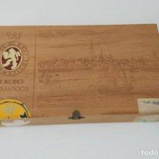 Cajas de Puros: BONITA CAJA DE PUROS REIG AROMÁTICOS CALYPSO, VACÍA. Lote 217027380