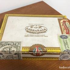 Cajas de Puros: CAJA DE PUROS 25 CUBANOS N1 DE LARRAÑAGA, ANTIGUA, ADJUNTO DIVERSAS FOTOS. Lote 217613016