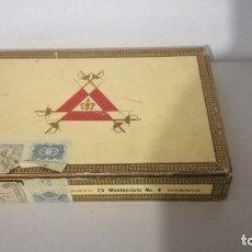 Cajas de Puros: PUROS MONTECRISTO CAJA COMPLETA EN BUEN ESTADO. Lote 217743533