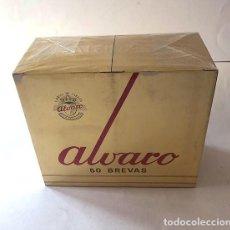 Cajas de Puros: ALVARO - 50 BREVAS / PUROS / SIN ABRIR ( PRECINTADOS ) LA LAGUNA DE TENERIFE / CANARIAS. Lote 217904332
