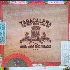 Cajas de Puros: CAJA DE PUROS PRECINTADA. NUEVA. LA FLOR DE LA ISABELA. FILIPINAS 100% TABACO AMANO. Lote 218101201