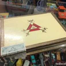 Cajas de Puros: ANTIGUA CAJA PUROS HABANOS MONTE CRISTO Nº 3 AÑOS 70 CONTIENE 21 PUROS HABANO. Lote 218115163