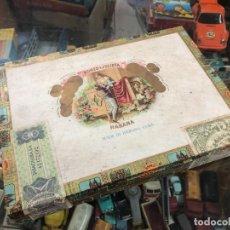 Cajas de Puros: ANTIGUA CAJA PUROS HABANOS ROMEO Y JULIETA ROMERO Nº1 TUBO CONTIENE 5 PUROS HABANOS. Lote 218115513