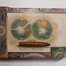 Cajas de Puros: CAJA VACÍA DE PUROS MUNDIAL. HABANA.. Lote 218147501