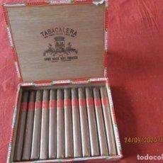 Cajas de Puros: CAJA CON 12 PUROS CORONAS LARGAS ESPECIALES. FLOR FINA. TABACALERA, MANILA, PHILIPPINES,. Lote 218709583