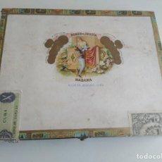 Cajas de Puros: ANTIGUA CAJA DE PUROS ROMEO Y JULIETA. MADERA. HECHO EN CUBA. 10 CHURCHILLS.. Lote 218801746