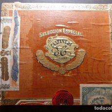 Cajas de Puros: CAJA PUROS CASTAÑEDA LA HABANA CUBA PRESIDENTES VACIA. Lote 219132740