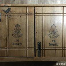 Cajas de Puros: CAJA DE PUROS TAGORO TIPO MUEBLE ARMARIO. Lote 220111137
