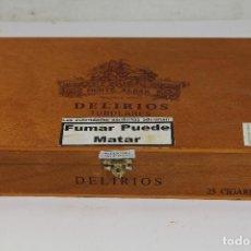 Cajas de Puros: CAJA DE PUROS DELIRIOS -MONTE ALBAR -. Lote 221072022