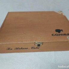 Cajas de Puros: CAJA DE PUROS VACÍA DE COHIBA,LA HABANA,CUBA.. Lote 221170525
