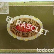 Cajas de Puros: ANTIGÜA CAJA VACIA DE PUROS LA FLOR DE CANO - HABANA- EN PERFECTO ESTADO VER FOTOS -. Lote 221475150