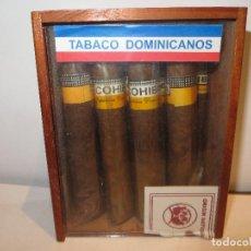 Cajas de Puros: CAJA DE PUROS COHIBAS HAY 9 DE 10 EN MUY BUEN ESTADO DE CONSERVACION,BARATOS. Lote 221712987