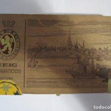 Cajas de Puros: CAJA PUROS VACIA REIG AROMATICOS CALYPSO SUMATRA AROMATICOS. Lote 221743027