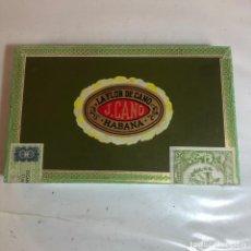 Cajas de Puros: LA FLOR DE CANO, J.CANO - HABANA - CAJA DE PUROS SIN ABRIR PRECINTOS ORIGINALES. Lote 221780440
