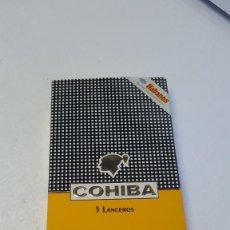Cajas de Puros: PUROS COHIBA 5 LANCEROS. Lote 222327366