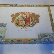 Cajas de Puros: CAJA ROMEO Y JULIETA. Lote 222329707