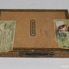 Cajas de Puros: CAJA DE PUROS SANCHO PANZA - LA HABANA - CUBA. Lote 222523157