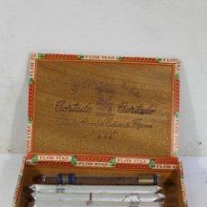 Cajas de Puros: CAJA DE PUROS LA FLOR DE ISABELA. Lote 222624535