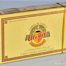 Cajas de Puros: CAJA DE PUROS ALVARO. 10 ISLEÑOS. SIN ABRIR. Lote 222656035