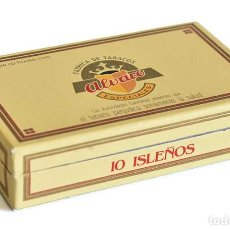 Cajas de Puros: CAJA DE PUROS ALVARO. 10 ISLEÑOS. DESPRECINTADO. Lote 222657406