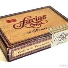 Cajas de Puros: CAJA CON 20 PUROS FARIAS NÚMERO 1. Lote 222660903