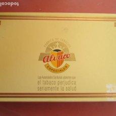 Cajas de Puros: CAJA DE PUROS ALVARO - 25 CEDROS - PRECINTADOS.. Lote 222715101