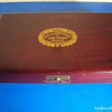 Cajas de Puros: (TA-201100)ANTIGUA CAJA HOYO DE MONTERREY DE JOSE GENER - HUMIDOR Nº 1 - HABANA - CUBA. Lote 223215442