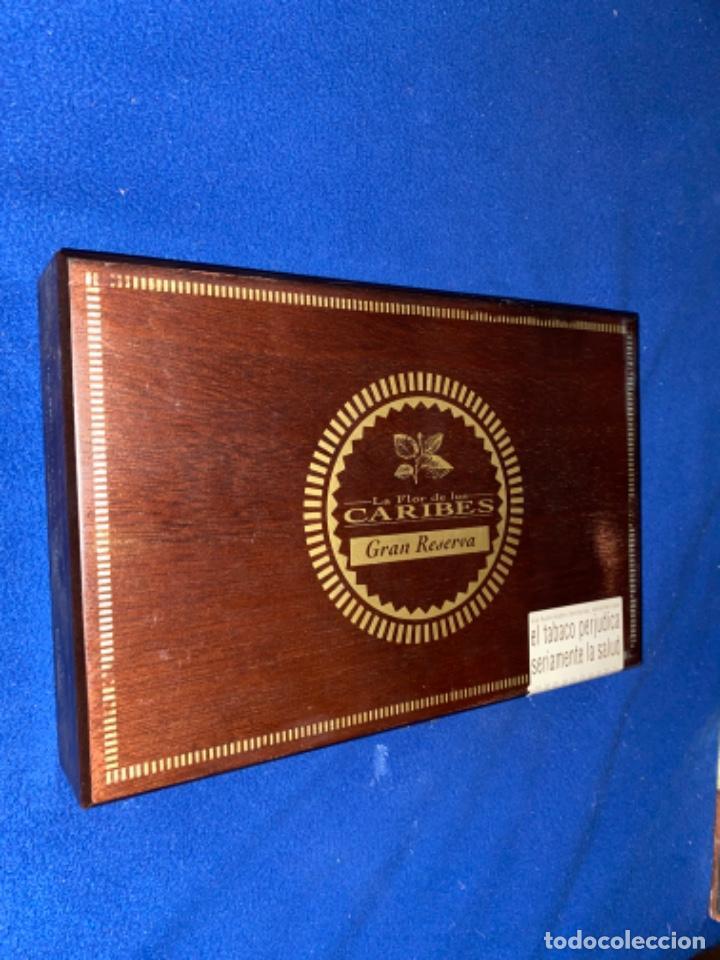 Cajas de Puros: Caja de puros La flor de los caribes gran reserva full Nueva SIN ABRIR - Foto 5 - 223243047