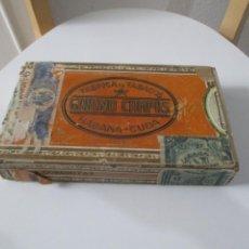 Cajas de Puros: CAJA DE PUROS GABINO CAMPOS FABRICA DE TABACOS HABANA,CUBA. Lote 223730247