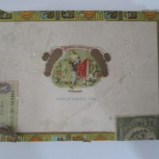 Cajas de Puros: CAJA DE PUROS ROMEO Y JULIETA HABANA,CUBA. Lote 223730797