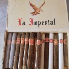 Boîtes de Cigares: CAJA DE PUROS HABANOS VARIADOS. ROMEO Y JULIETA, FONSECA, TROYA, LARRAÑAGA,MARIA GUERRERO Y QUINTERO. Lote 226477775