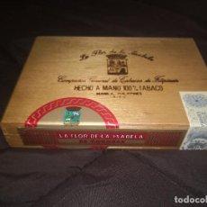 Cajas de Puros: CAJA PRECINTADA LA FLOR DE ISABELA 25 CORONAS. Lote 232059905