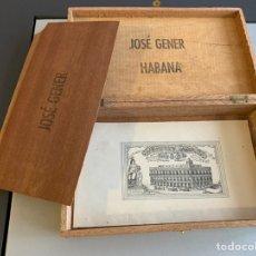 Cajas de Puros: CAJA JOSE GENER. HOYO DE MONTERREY. Lote 232308700