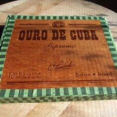 Cajas de Puros: CAJA DE PUROS ( CON UN PURO ). Lote 232847980