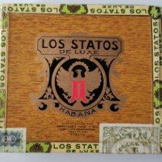 Scatole di Sigari: CAJA DE PUROS HABANOS LOS STATOS 10 SELECTOS (CAJA PRECINTADA). Lote 234059220