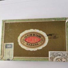 Scatole di Sigari: CAJA DE PUROS HABANOS LA FLOR DE CANO 25 PETIT CORONAS (CAJA PRECINTADA). Lote 234063150