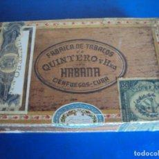 Cajas de Puros: (TA-210101)CAJA DE PUROS SIN ABRIR PRECINTADA 25 LONDRES QUINTERO Y HNO. CIENFUEGOS - CUBA. Lote 234706595
