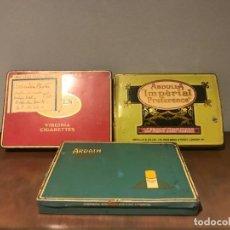 """Cajas de Puros: LOTE DE 3 CAJAS DE TABACO DE ABDULLA IMPERIAL PREFERENCE, VIRGINA GRAVEN """" A """" Y ARDATH CO. Lote 234947190"""