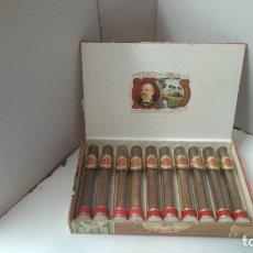 Cajas de Puros: CIFUENTES HABANA CUBA 10 PUROS CRISTALTUBOS COMPLETA. Lote 236721280