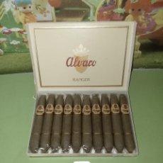Cajas de Puros: CAJA DE TABACO PUROS ALVARO RANGER. Lote 236773715