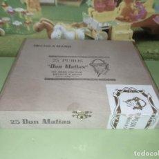 Cajas de Puros: CAJA MADERA PUROS DON MATIAS MUY BONITA. Lote 236774285