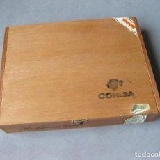 Cajas de Puros: CAJA DE 25 PUROS ESPLÉNDIDOS COHIBA CON 8 - LA HABANA CUBA. Lote 254180415